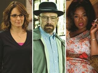 'Breaking Bad,' '30 Rock' and Oprah Winfrey nab SAG Awards nominations