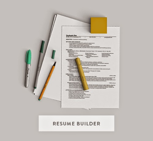 free resume builder monster
