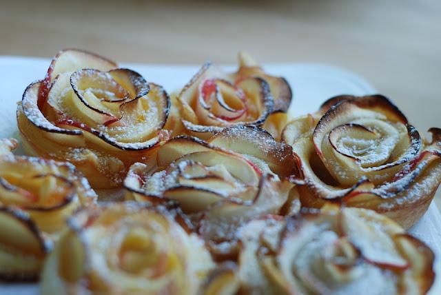 Faire des roses de pommes
