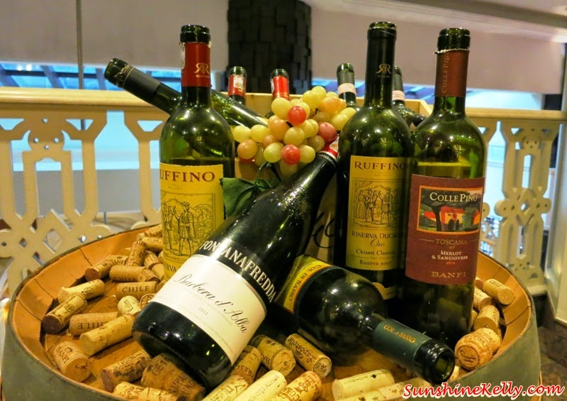 Italian Dining Experience, Santa Margherita Wine Dinner, Villa Danieli, sheraton imperial kl, food review, food wine pairing