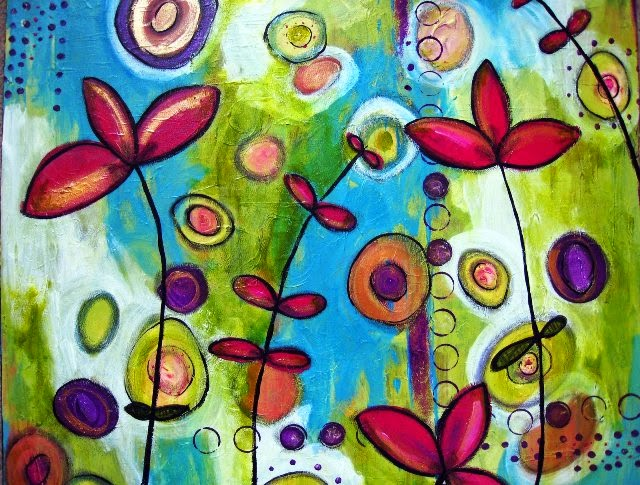Abstract Art Painting Ideas From Nature Abstract Painting Ideas For