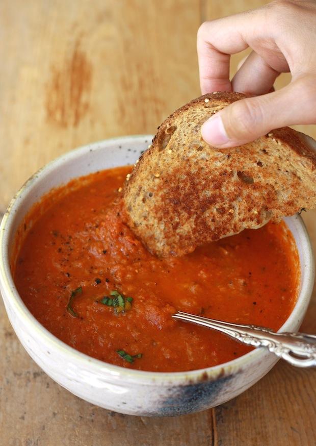 Season with Spice - an Asian Spice Shop: Garden Tomato Basil Soup