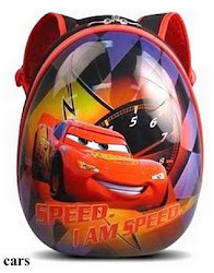 Disney Hardshell Backpack - Speed Car