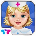 Baby Doctor - Toy Hospital Game App iTunes App Icon Logo By Kids Fun Club by TabTale - FreeApps.ws