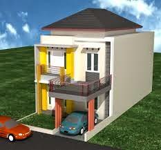 Model Rumah Minimalis 2 lantai type 36 sederhana