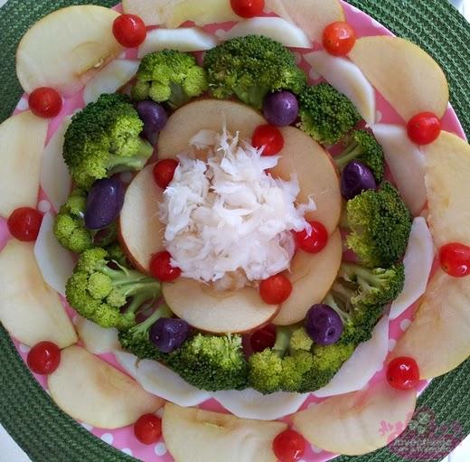 Salada de bacalhau para Natal e Páscoa
