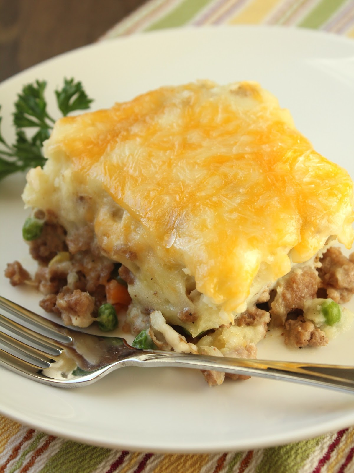 Turkey Shepherd's Pie with Sweet Potatoes