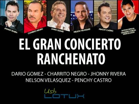 El gran concierto ranchenato