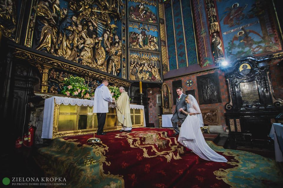 fotografia-ślubna-Kęty-Kościół-Mariacki