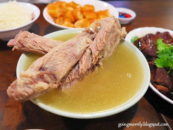 Pork Ribs Soup Bak Kut Teh 排骨肉骨茶