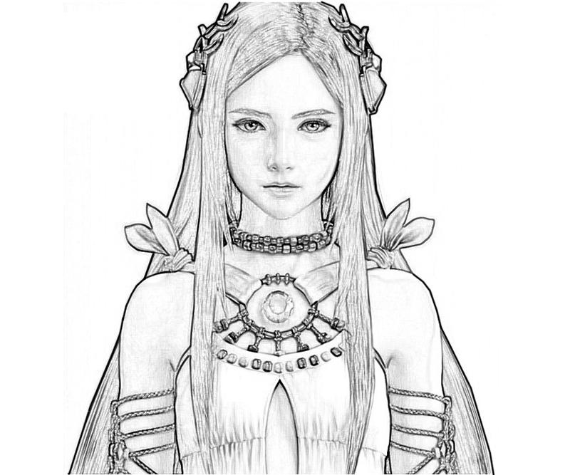 yeul-face-coloring-pages