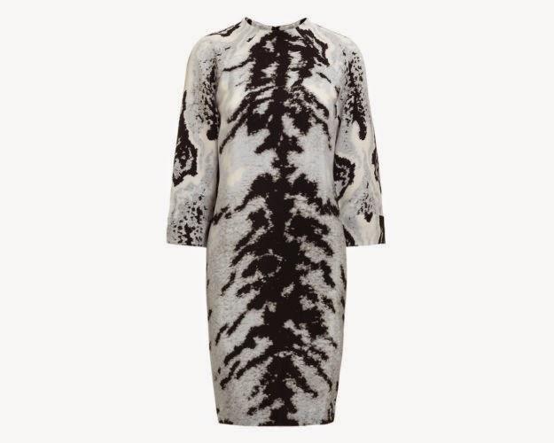whistles animal print dress