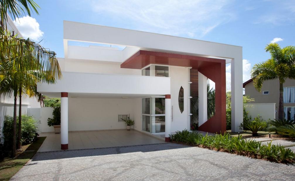 40 fachadas de casas modernas e esculturais maravilhosas - Fachadas de casa modernas ...
