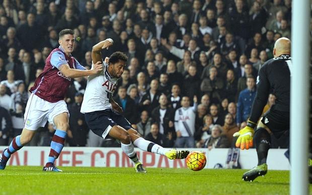 Hasil laga Tottenham Hotspur 3-1 Aston Villa