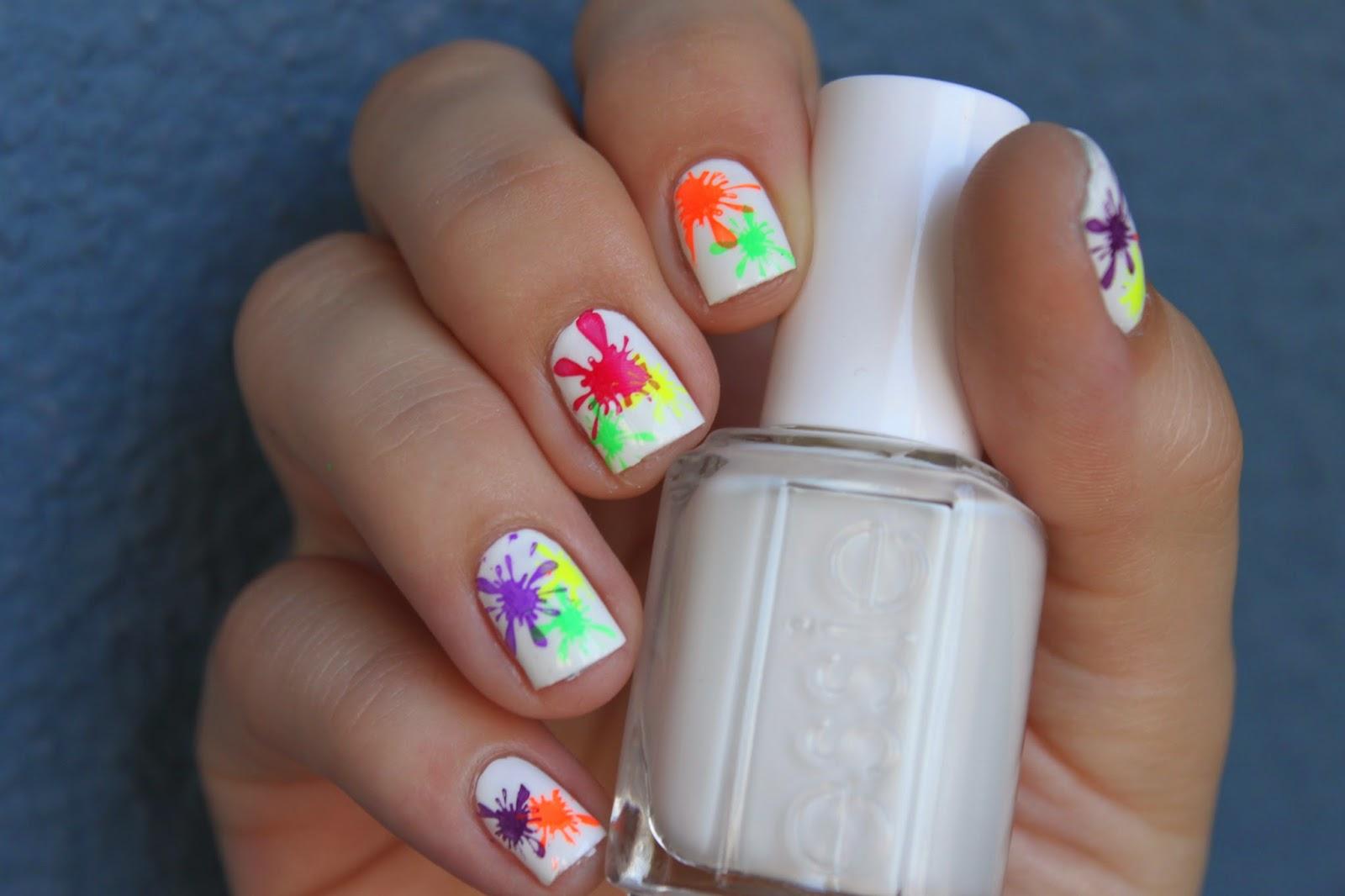 Дизайн ногтей дождь фото