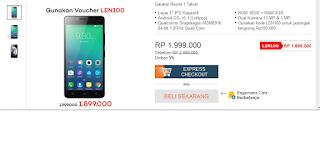 Lenovo A6010 16 gb discount di lazada