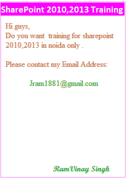 SharePoint Training