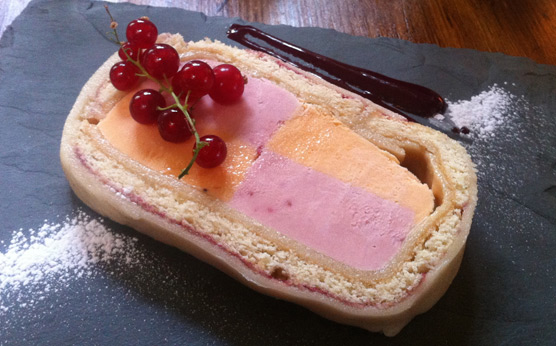 Lucy's of Ambleside Up the Duff Pudding Club - Battenberg Iced Terrine