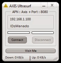 Inject AXIS Ultrasurf 29 OKtober 2014