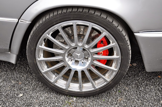 w124 e500 brakes