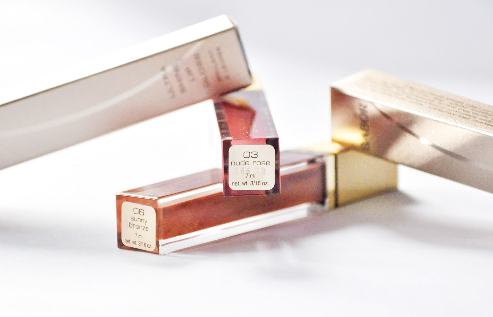 BABOR Ultra Shine Lip Gloss #03 Nude Rose #06 Sunny Bronze