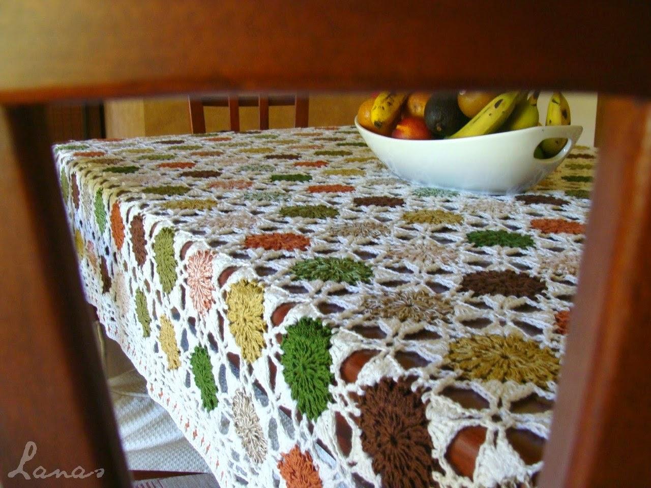 Un mantel fuera de serie al crochet crochet y dos for Cosas fuera de serie