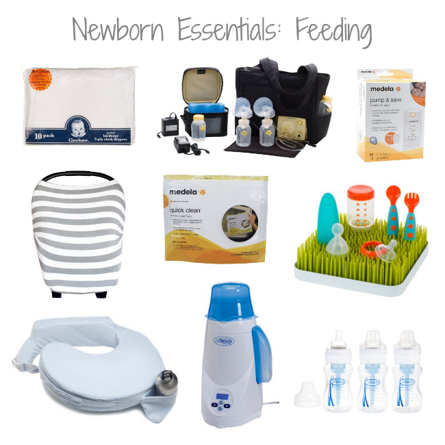 Newborn Essentials: Feeding