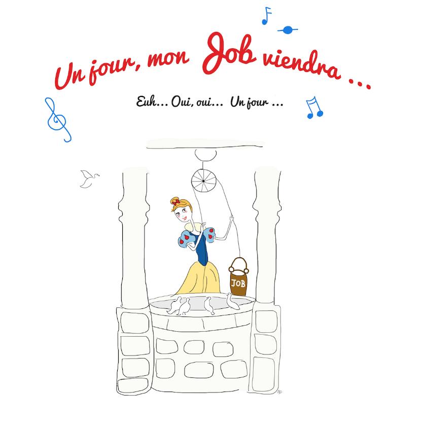 Blanche neige Prince charmant emploi chômage conte un jour mon prince viendra chômeuse pole emploi
