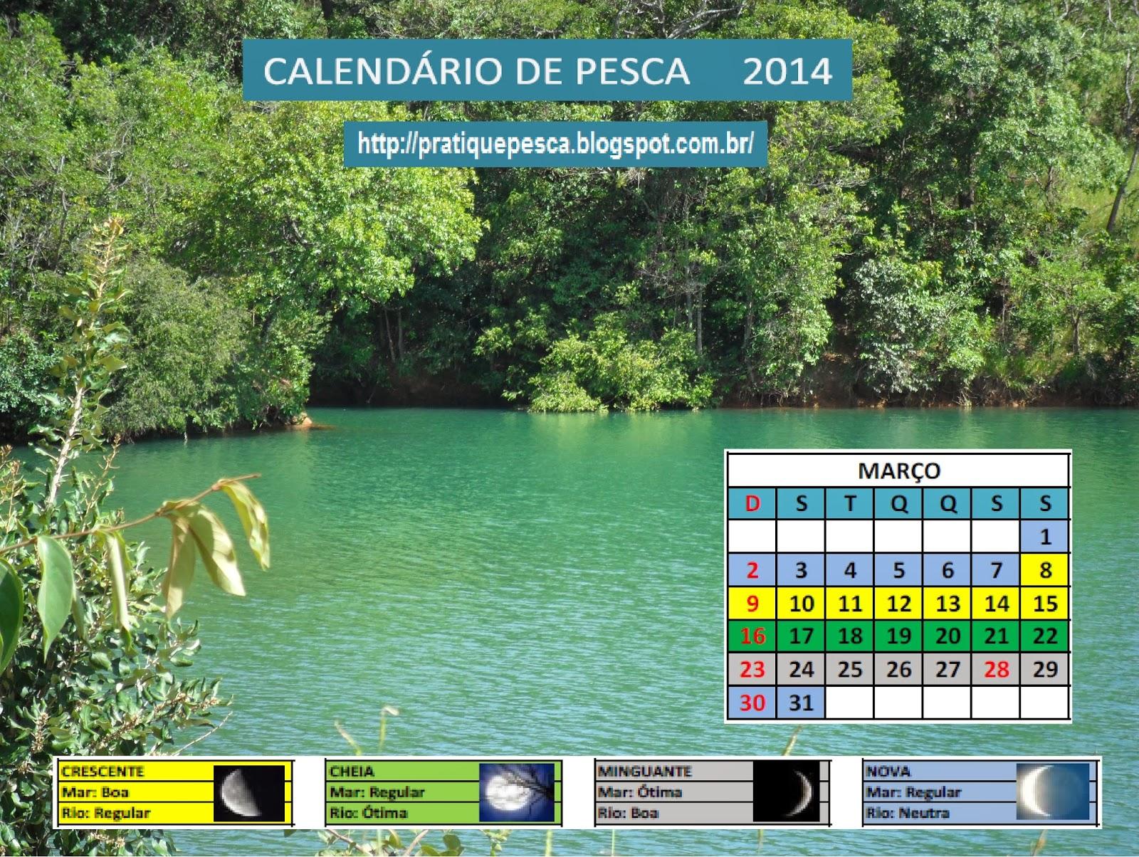 Calendario De Pesca Solunar 2015 De Todo Para La Pesca ...