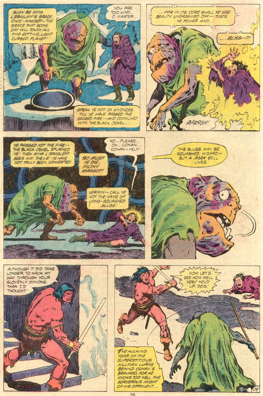 Conan the Barbarian (1970) Issue #118 #130 - English 20