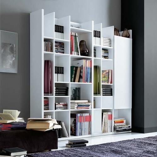 Cmo organizar una Biblioteca en el Living Room Sala de Estar