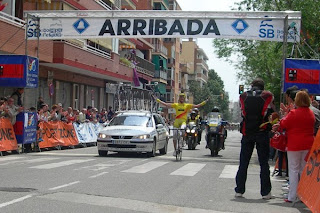 Cursa Ciclista del Llobregat 2010