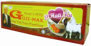 KOPI GOJIMAX  Plus SUSU KAMBING dan KOLAGEN RM25, 15 uncang