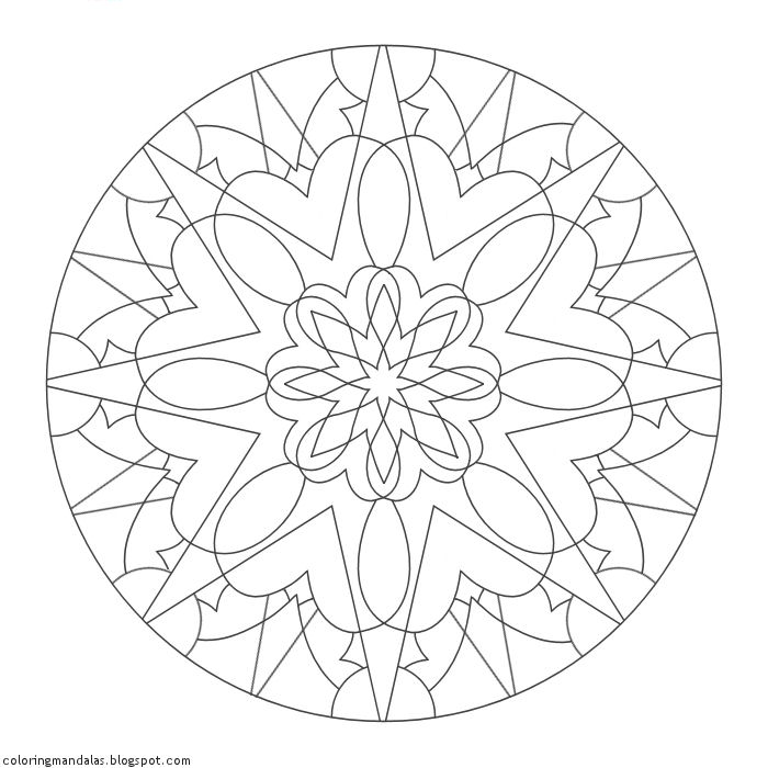 Coloring Mandalas Prayer of Healing