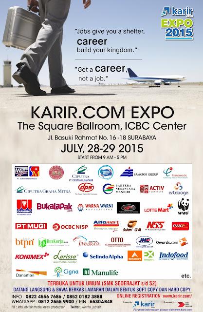 Informasi Jobfair Karir.com Juli 2015