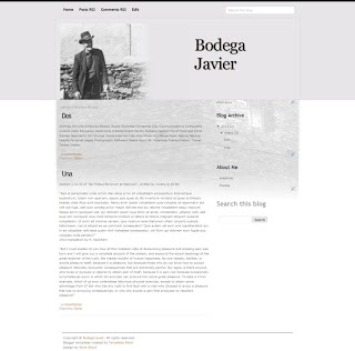 Bodega Javier (privado)
