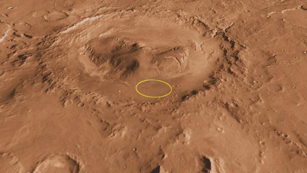 El rover Curiosity  encontró restos de un mineral asociado a potentes explosiones volcánicas