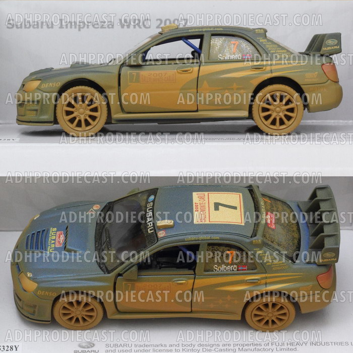 Miniatur Subaru Impreza WRC (DIRT Rally)