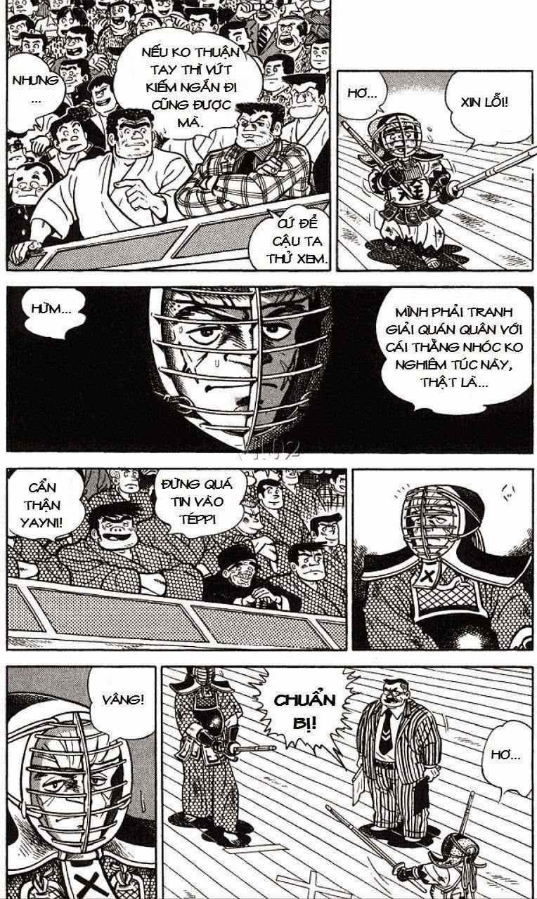 Siêu quậy Teppi chap 129 - Trang 10