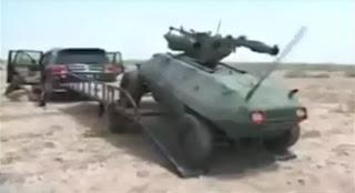 Ιρακινό πολεμικό ρομπότ στις μάχες κατά του Ισλαμικού Κράτους στη Μοσούλη