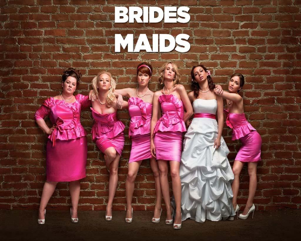Bridesmaids Movie Wallpaper 2011 Cute Girls Celebrity