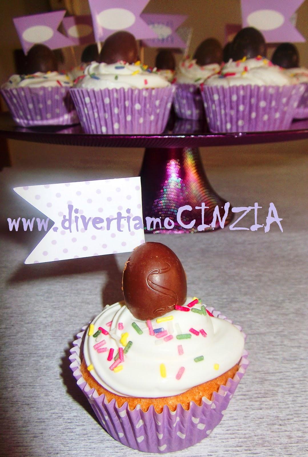 cupcake con frosting al mascarpone