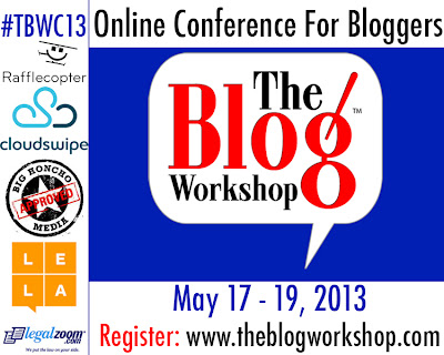 The Blog workshop conference