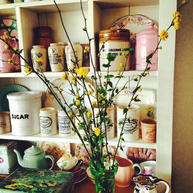 Spring dresser