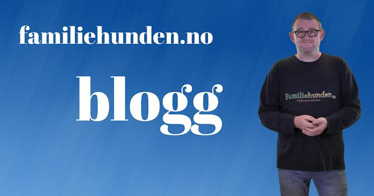 Familiehundens blogg