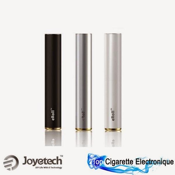 Batterie eRoll de Joyetech Noir, Argent ou Blanche
