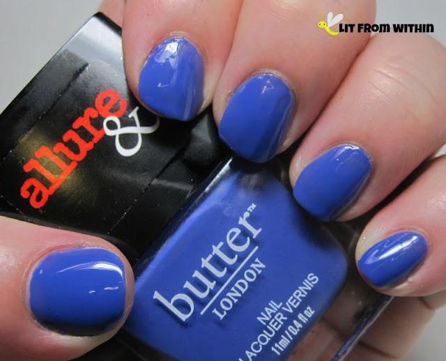 Butter London X Allure Violet's Revenge