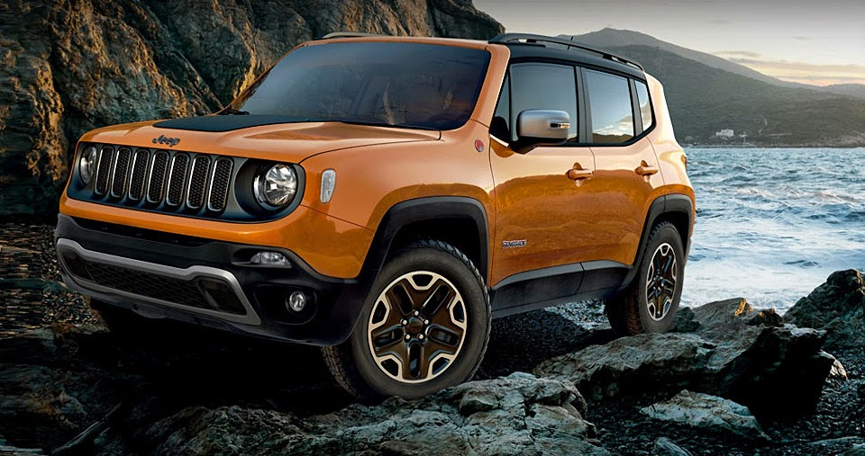 Jeep Renegade (Omaha Orange)