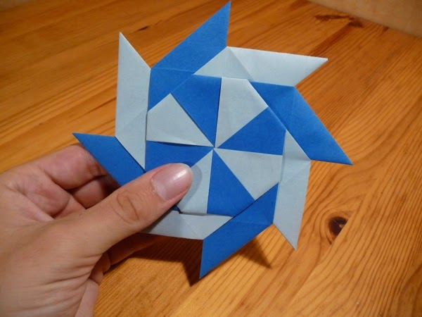 origami chinese throwing star