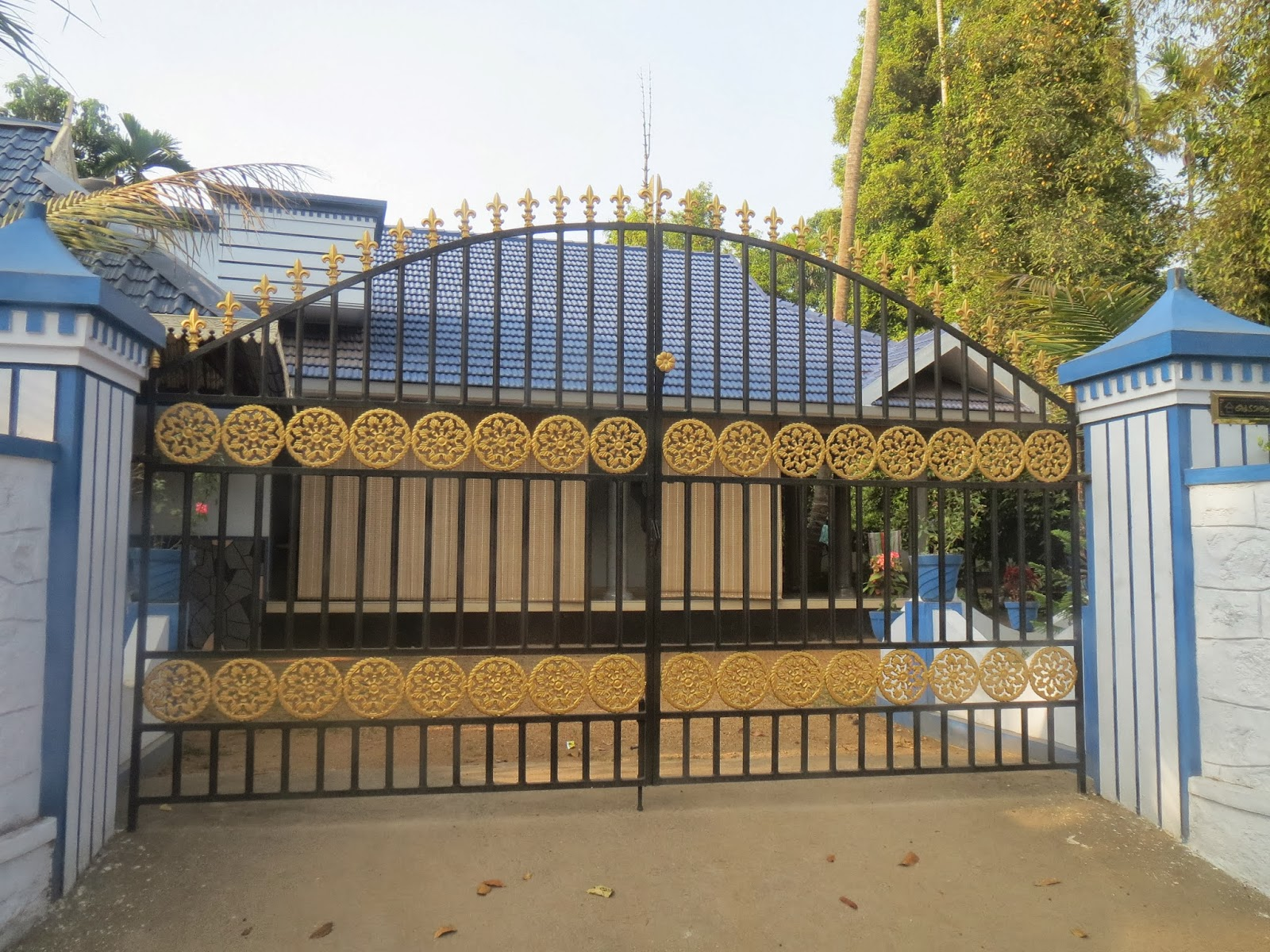 Kerala Gate Designs Kerala House Gates